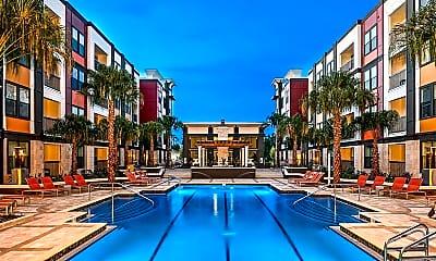 Pool, EOS Apartments, 0