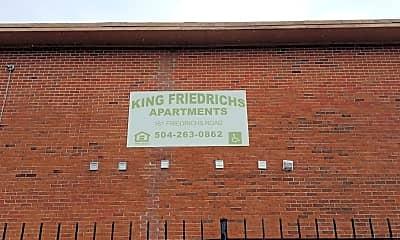 King Friedrick's Apartments, 1