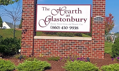 THE HEARTH AT GLASTONBURY, 1