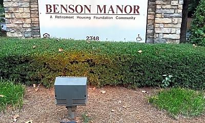 Benson Manor, 1