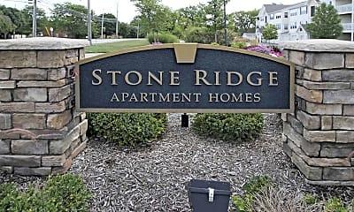 Community Signage, Stone Ridge Apartments, 2