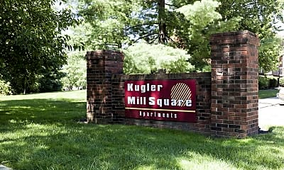 Community Signage, Kugler Mill Square Apartments, 2