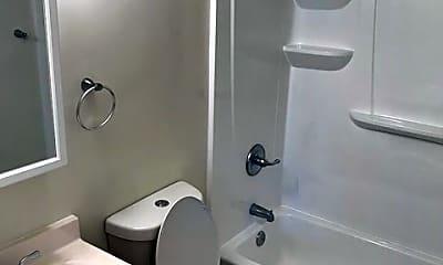 Bathroom, Brynwood Apartments, 2
