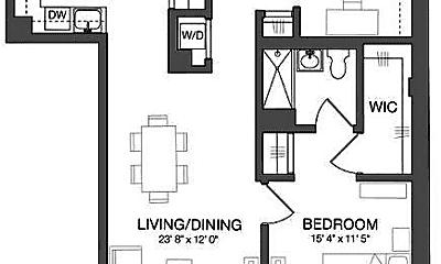 Bedroom, 97-45 Queens Blvd, 2