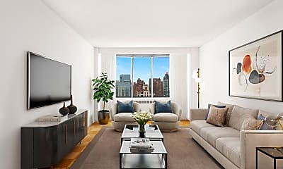 Living Room, 1750 York Avenue, 0