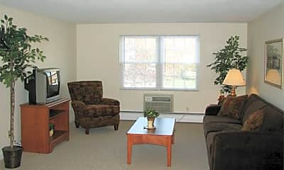 Living Room, Brookside Apartments, 2