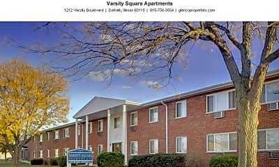 Building, Varsity Square Apartments, 0