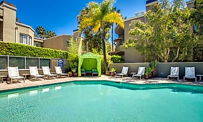 Pool, HillCreste Apartments, 0