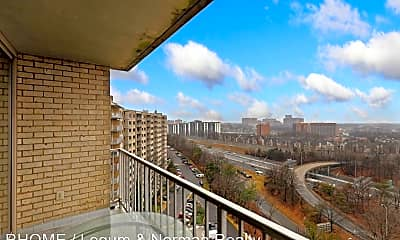Patio / Deck, 2500 North Van Dorn Street Unit 1505, 1