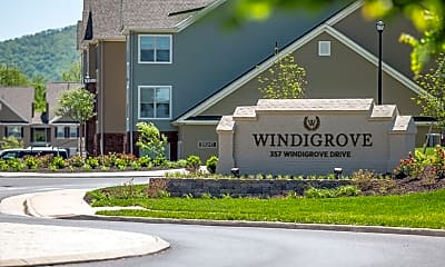 Community Signage, Windigrove Apartments, 0