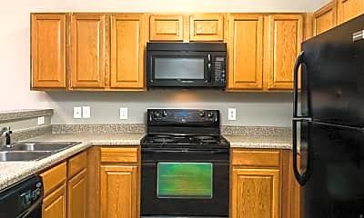 Kitchen, Spencer Crossing, 1