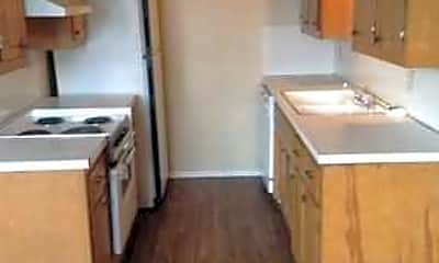 Kitchen, Phoenix Village Apartments, 1