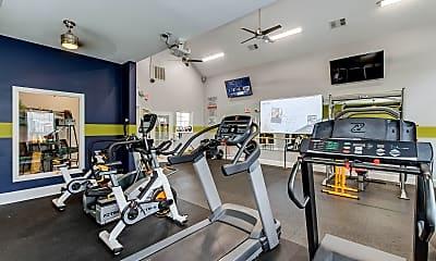 Fitness Weight Room, Carrington Park at Stonetrace, 1