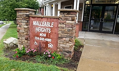Malleable Heights, 1