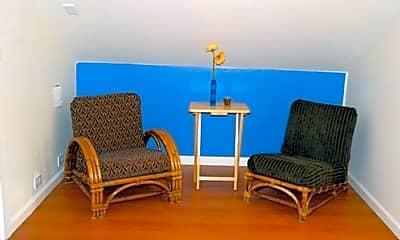 Living Room, 1715 Bancroft Way, 1