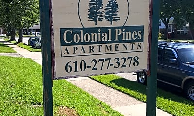 COLONIAL PINE APARTMENTS, 1