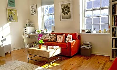 Living Room, 341 Monmouth St 204D, 1