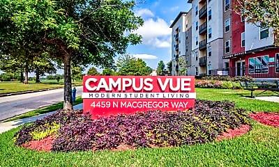 Community Signage, Campus Vue Student Apartments, 2