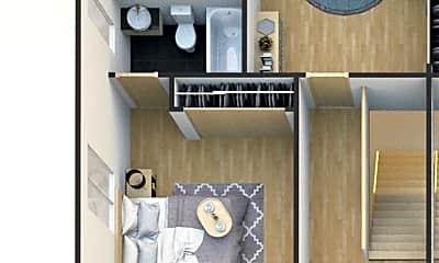 Bedroom, 1812 1/2 Hauser Blvd, 2