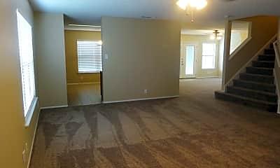 Living Room, 7611 Rimhurst, 1