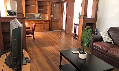 Living Room, 5431 E 27th St, 2