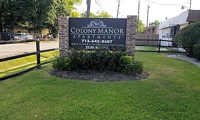 Colony Manor / Gatehouse Apartments, 1