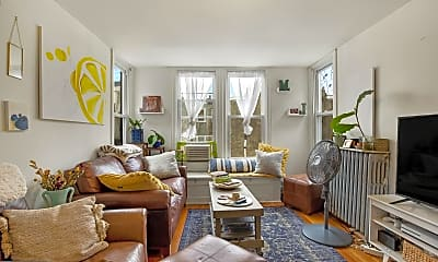 Living Room, 1625 Brown St 3, 1