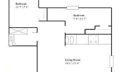 Building, 304 N Broom St, 2