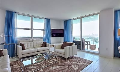 Living Room, 650 West Ave 2801, 0