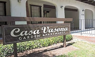 Community Signage, Casa Vasona Apartments, 2