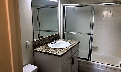 Bathroom, Rancho La Paz, 1