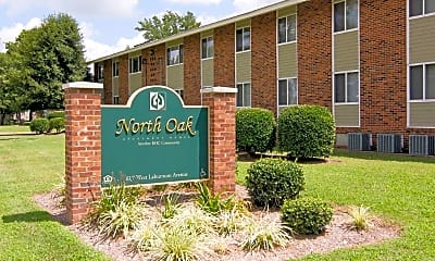 Building, North Oak Apartments, 2