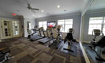 Fitness Weight Room, The Crossings At Ewing, 2