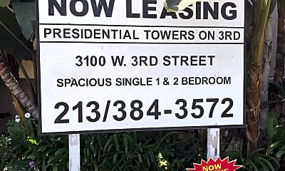 Presidential Towers on 3rd, 1