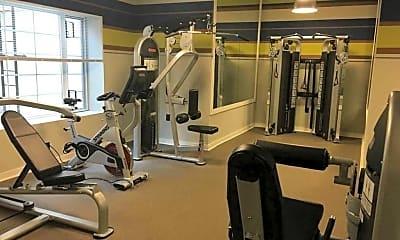 Fitness Weight Room, Woodbury Park, 2