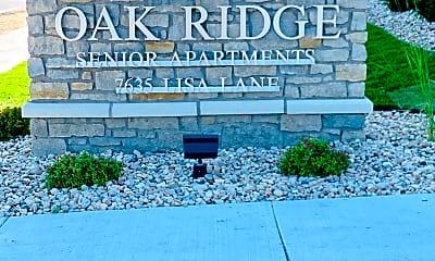 Community Signage, Oak Ridge Senior, 0