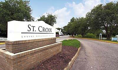 Community Signage, St. Croix, 2