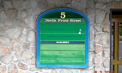 Community Signage, 5 N Front St, 2