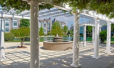 Courtyard, Lakes of Chateau North, 0