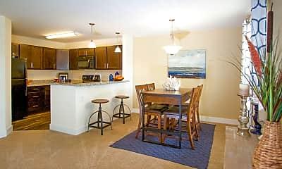 Dining Room, Aspen Apartments, 1