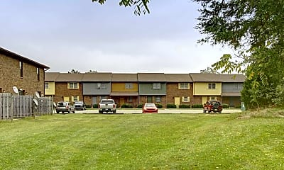 Building, Woodside Townhomes, 1