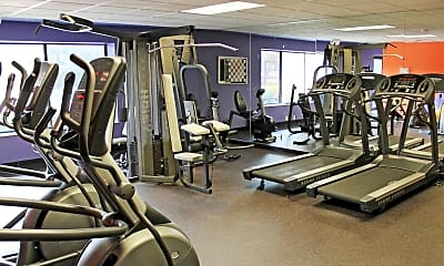 Fitness Weight Room, North Park Place, 2