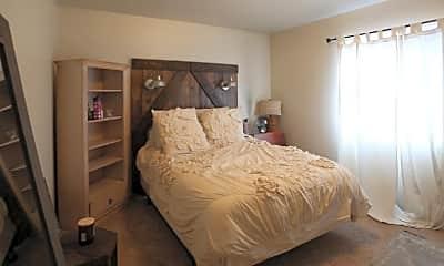 Bedroom, Broadway Apartments, 1