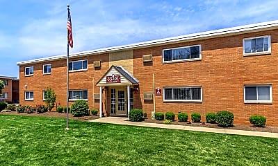 Building, Vine East, 1