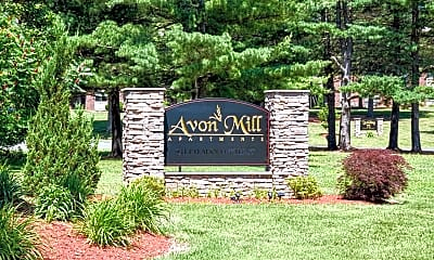 Community Signage, Avon Mill Apartments, 2