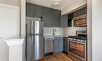 Kitchen, Munson Hill Towers, 0