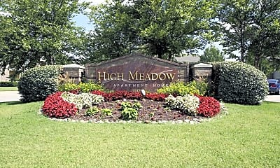Community Signage, High Meadow Apartments, 2