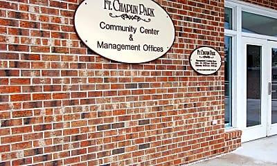 Community Signage, Fort Chaplin Park, 1