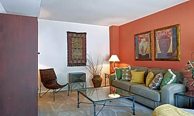 Living Room, Buckingham Place Townhomes, 1