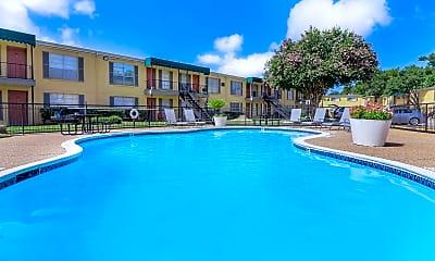 Pool, 9600 Braes Bayou Dr, 1